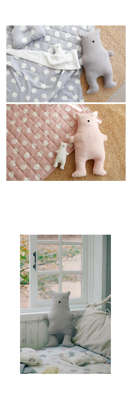 거즈원단 곰인형 60cm 바디필로우 안고자는 아기 애착인형 - 꿈꾸는두부, 28,900원, 장난감, 인형/애착인형