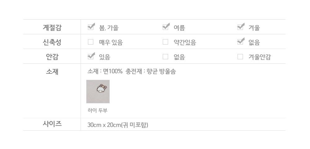 신생아짱구베개 하이두부 - 꿈꾸는두부, 21,000원, 패브릭/침구, 베개/필로우