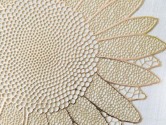 플라워 방수 레이스 매트 2컬러 - 오리엔탈무드, 6,380원, 매트, PVC매트