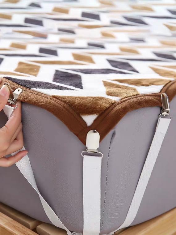 침대시트 이불 고정 3발 메탈집게 - 오리엔탈무드, 1,760원, 생활잡화, 생활소모품