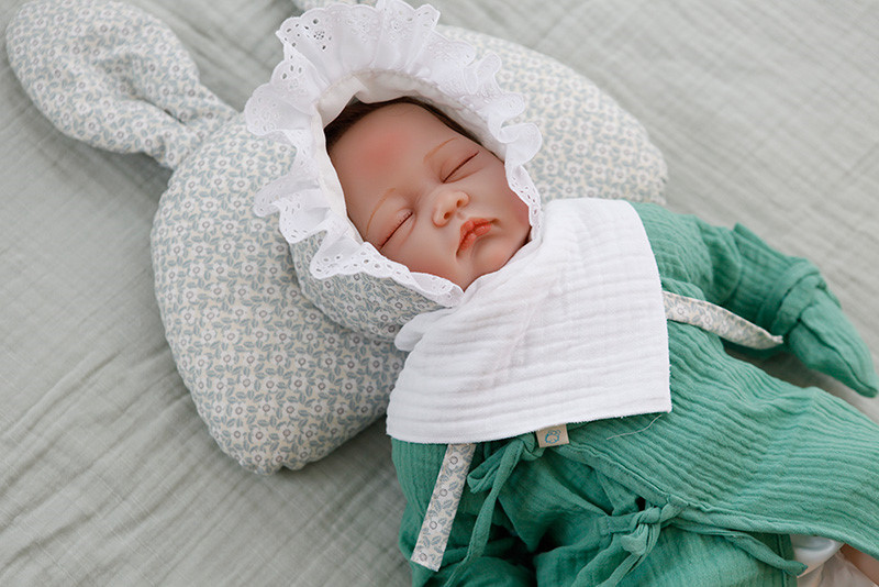 유아 삼중 거즈 여아 3종세트 사계절 아기 스카프빕 - 꿈꾸는두부, 14,000원, 액세서리, 스카프