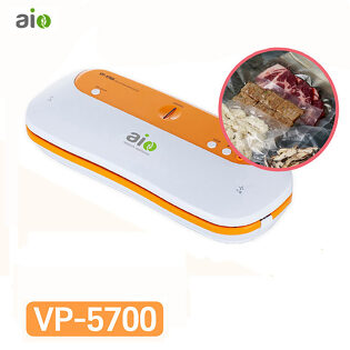 인트로팩 진공포장기 VP-5700 AIO 가정용/업소용 진공 포장기계 진공파우치 롤 페르오