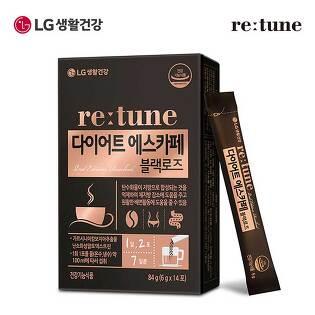 [LG생활건강]리튠 다이어트 에스카페 블랙로즈(14포/7일분)x1개