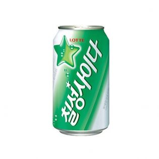 [박스판매]칠성사이다 355ml X 24can/뚱캔/탄산음료/롯데칠성