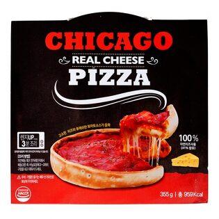 리얼 치즈 시카고피자/냉동/5개까지묶음가능/자연산치즈사용