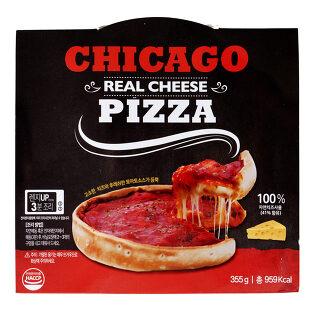 리얼 시카고피자 6종묶음/치즈,불고기,페파로니,쉬림프,베이컨포테이토,불닭/냉동