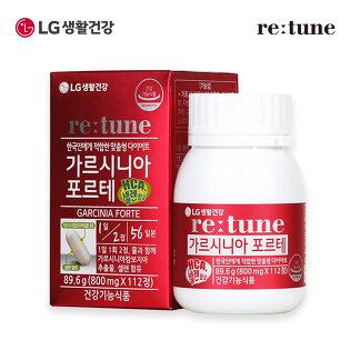 [LG생활건강]리튠 가르시니아 포르테(112정/8주분)x1개