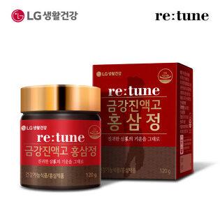 [LG생활건강] 리튠 금강진액고 홍삼정(120g)x1개