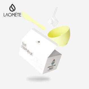 라오메뜨 모델링팩 도구 세트 (계량컵+고무볼+스파츌라)