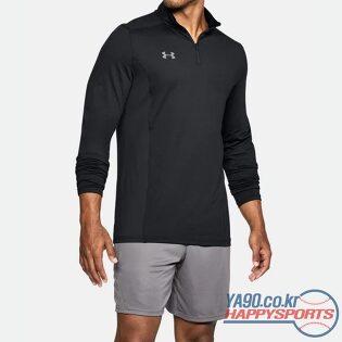 [언더아머] UA 챌린저 II 미드레이어 긴팔 티셔츠 555 (블랙 001)