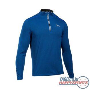 [언더아머] UA 스레드본 스트리커 4분에1 집업 티셔츠 851 (블루 985)