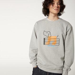 [FW20 SV X Sandomi Studio] Bowow Sweatshirts(MG)
