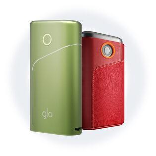 글로 프로 + 정품 가죽 슬리브 번들팩 (Red)