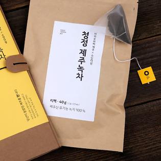 제주 녹차 티백 1팩 (2g x 20개)