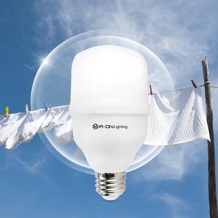 곰팡이제거 친환경 클린 항균 LED 전구 15W 전구색 주광색