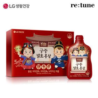 *[LG생활건강]리튠 궁중 발효 홍삼(30포/1개월분)x1개