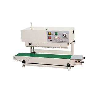 수직형밴드실러 무인자 CMB-900 식품포장기계 갈비탕 국물이있는제품 높이조절가능!!