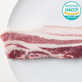 지리산 흑돼지 버크셔k 삼겹살 600g, 1kg
