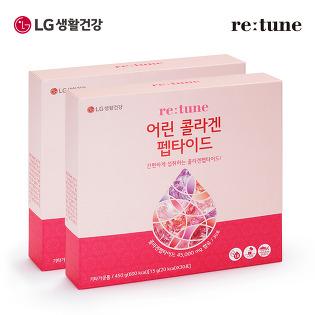 [LG생활건강]리튠 어린 콜라겐 펩타이드(30포/1개월분)x2개