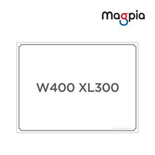 [마그피아] 유리용 화이트보드 400 x 300 / MGRM-SWB4030