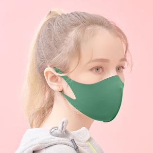 에어길 AIRGILL 빨아쓰는 3D마스크 연예인 패션마스크 클랭그린 녹색 그린마스크