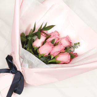 [당일배송] 핑크장미 (꽃다발, 기념일, 커플, 선물, 프로포즈, 고백, 꽃배달)
