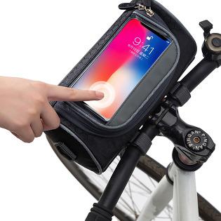 [신박!실용만점!!] 주부9단 자전거 가방 / 핸드폰 터치 / 안경 수납 등
