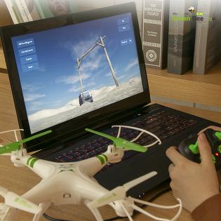 [월드스카이] Flytec SKD11 입문용 시뮬레이션 DIY 조립 드론 그린비