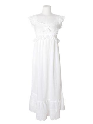 여성잠옷 챠밍 레이온코튼 원피스 홈웨어