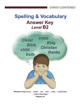 Spelling & Vocabulary - Level B2 (Answer Key)