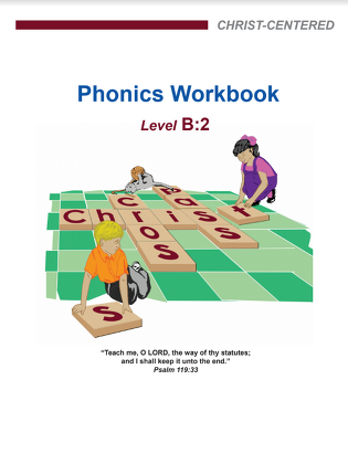 Phonics Workbook - Level B2